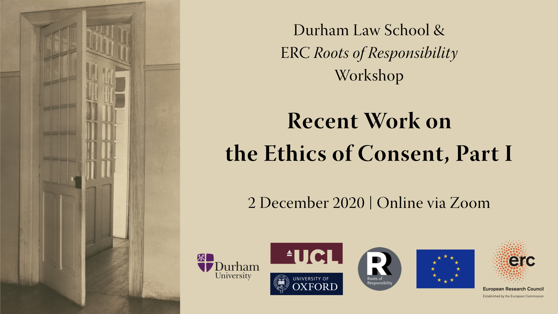 Durham & ERC RoR WS – Recent Work on the Ethics of Consent, Part I