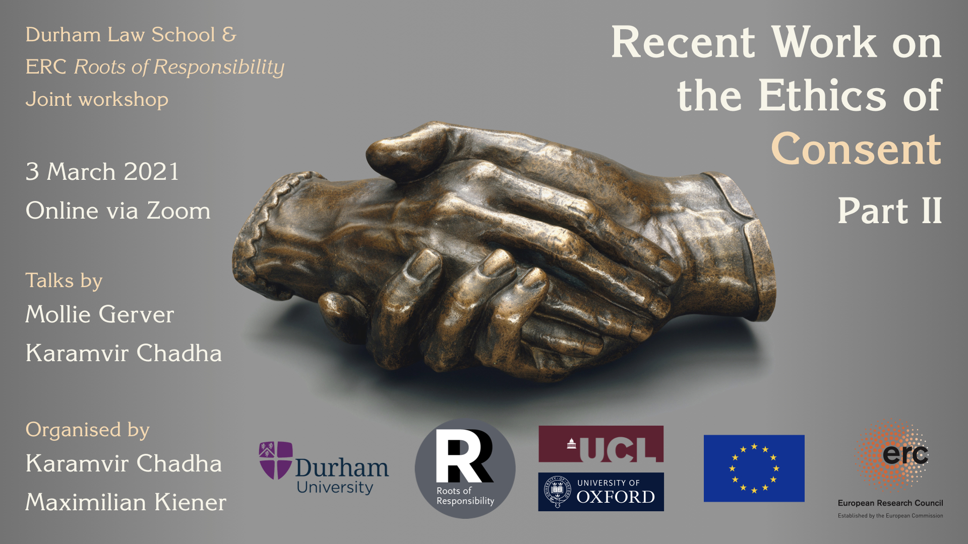 Durham & ERC RoR WS – Recent Work on the Ethics of Consent, Part II